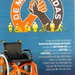 O Sincodive - GO apoia o De Mãos Dadas, novo programa de apoio à pessoas com deficiência